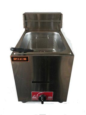 Професионален газов фритюрник JFK Gas Fryer JB-ZL71 4 KW 6л 50 mbar на газ