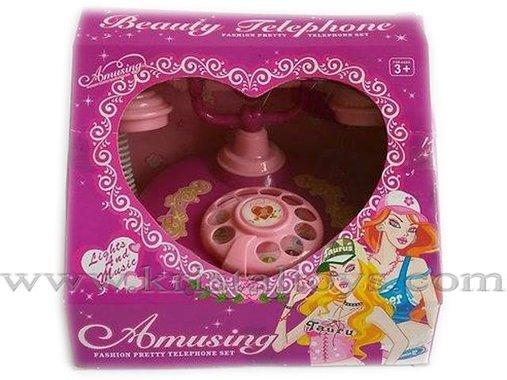 Детска играчка музикален телефон Beauty Telephone с класическа визия