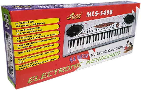 Детска играчка Йоника с 54 клавиша MLS - 5498.