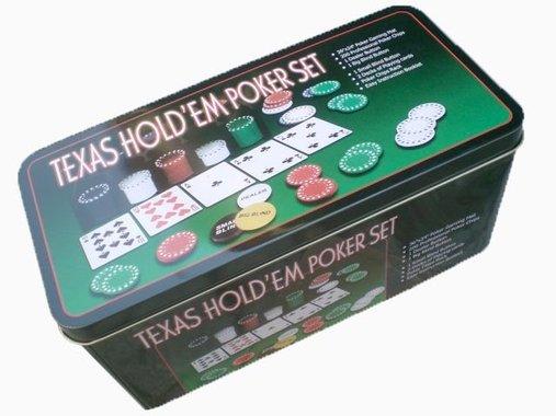 Пълен комплект за игра на Покер /Texas hold'em poker set/ - 200