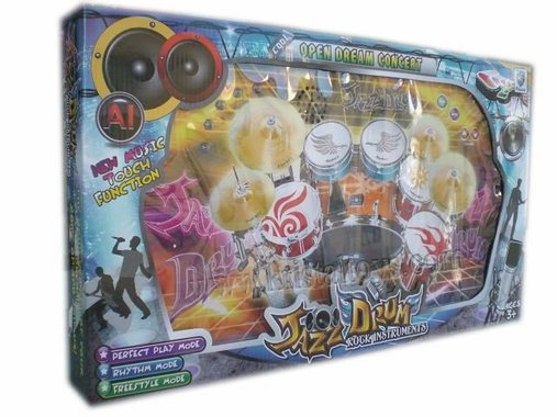 Детска играчка иновативен дигитален Барабан Jazz Drum