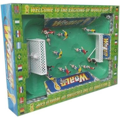 Детска играчка Комплект Игра Футбол с футболно поле и футболисти.