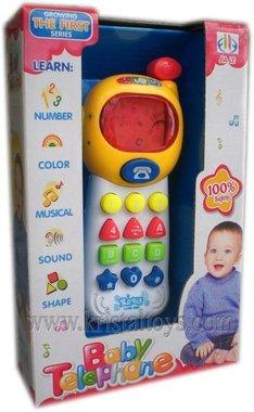 Детска играчка Занимателно и цветно детско телефонче със звук и светлина.