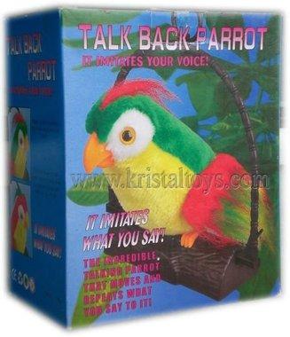 Детска играчка Папагал, който говори - говорящ