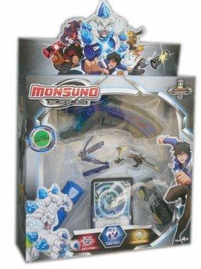 Детска играчка Монсуно, Вълнуващо приключение, смели герои, силни чудовища - Monsuno 8707.