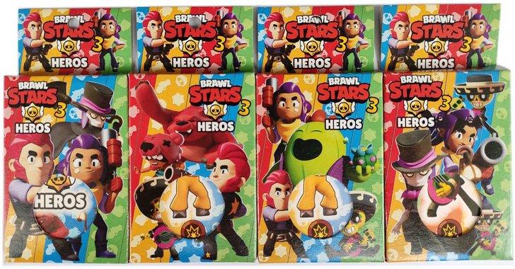 Детски карти за игра Броул Старс Brawl Stars.