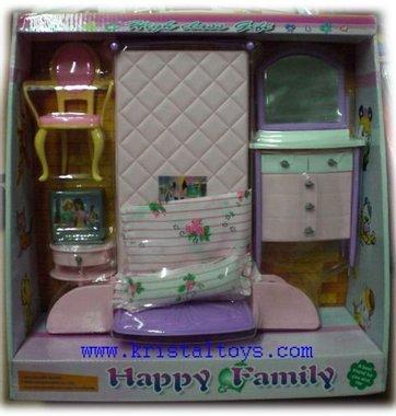 Детски комплект Спалня за кукли плюс интересни аксесоари
