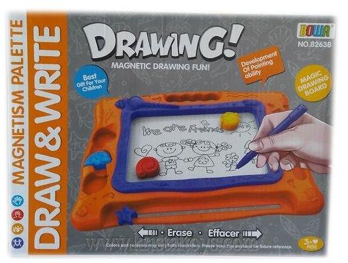 Комплект за рисуване - Магнитна и магическа дъска