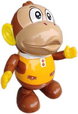 Детска занимателна играчка Танцуваща Маймунка със светлина и звук