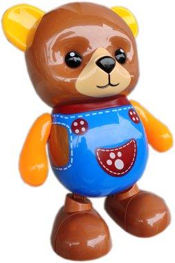 Детска занимателна играчка Танцуващо Мече със светлина и звук