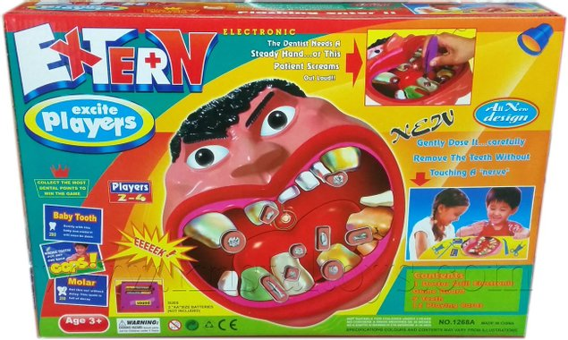 Детска образователна игра Зъболекар