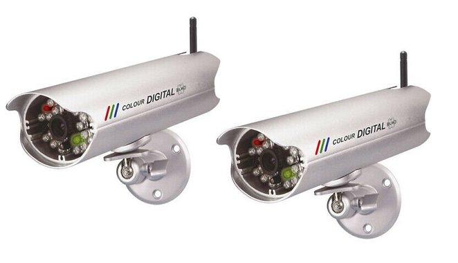 Камери ELRO DVR74W 7 видео камери wireless