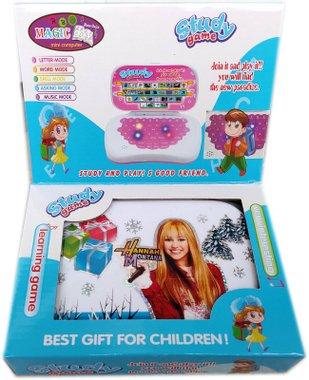 Детски лаптоп компютър на български език картинка на Hannah Montana