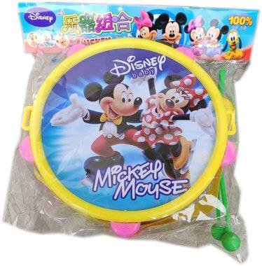 Детска играчка Барабан с палки и картинка на Мики Маус