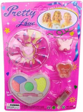 Детски Бюти комплект грим и сенки за кукли