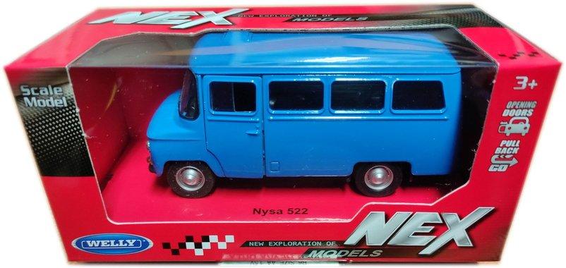 Метална кола с отварящи се врати Ниса Nisa 522 Welly