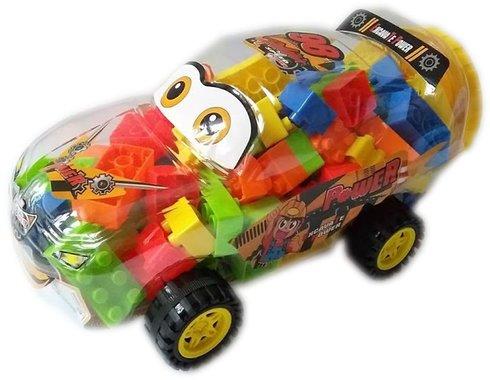 Детски комплект Конструктор кола - многоцветна