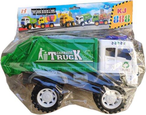 Детска играчка камион Сметовоз с големи гуми