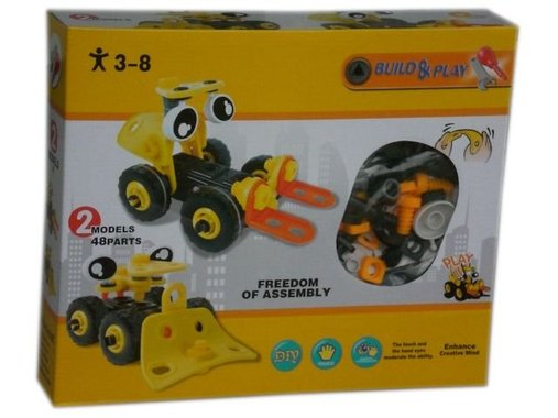 Детска играчка конструктор Мотокар
