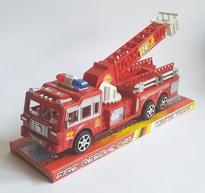 Детска играчка Пожарна с разтегаема стълба с вишка