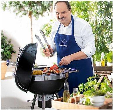 Бездимно барбекю на дървени въглища Activa Lafer Kugelgrill BBQ скара грил