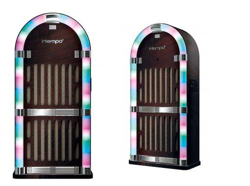 Джубокс Intempo EE1269BRN Jukebox Bluetooth колона