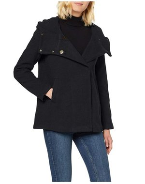 Дамско вълнено палто ONLY 15180897 свободен модел