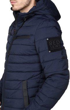 Мъжко спортно яке Redskins Belflower XXL зимно яке с качулка тъмно синьо