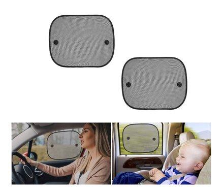 Сенник за автомобил Reer Sunshade 74117 2 броя слънцезащитен сенник за прозорец на кола щора