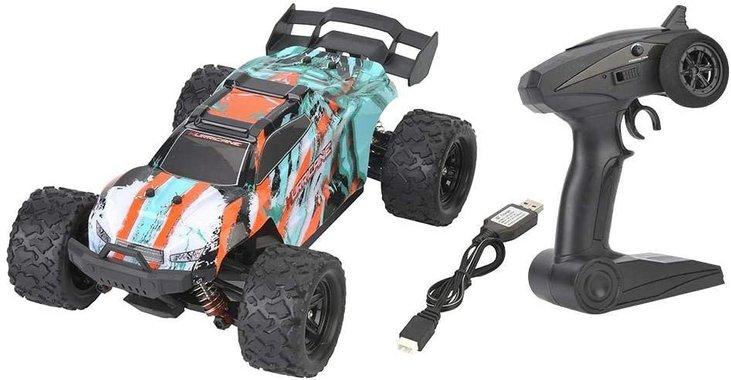 Радиоуправляема количка JJRC HS18322 4x4 36 км 7.4V 1200mAh мащаб 1:18 бъги играчка игра