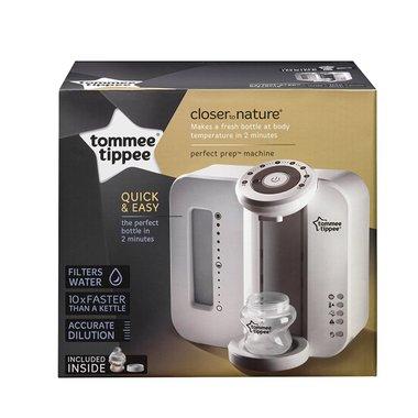 Електрически уред за приготвяне на адаптирано мляко Tommee Tippee 42370840 в комплекта шише за хранене и филтър