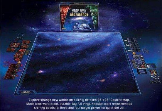 Галактическа карта Star Trek Ascendancy Gale Force Nine Play Mat 91x91 см
