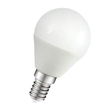 LED ЛАМПА PLASTIC 5W 220V E14 МАТ 4000K