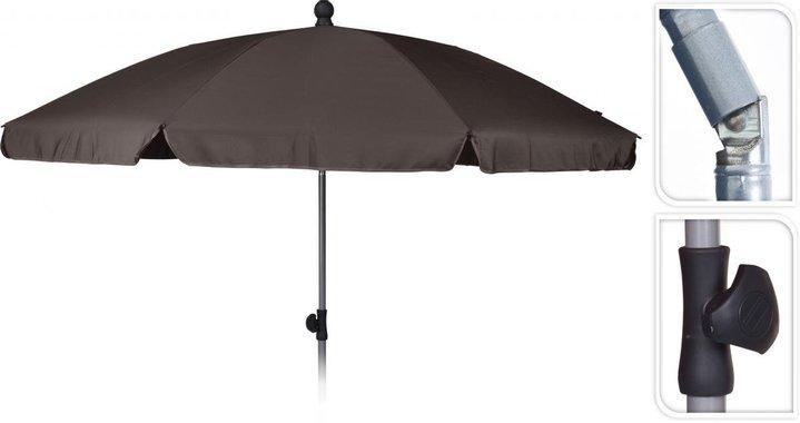 Балконски чадър ф200см, таупе