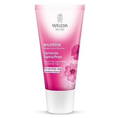 Дневен крем за лице Weleda Wild Rose 30мл с дива роза anti age крем против бръчки основа за грим