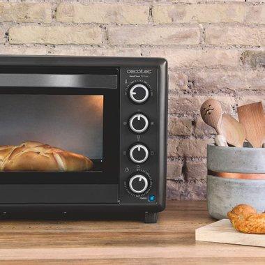Мини фурна Cecotec Bake and Toast 750 Gyro 2000 W 46 л печка конвекция грил-шиш