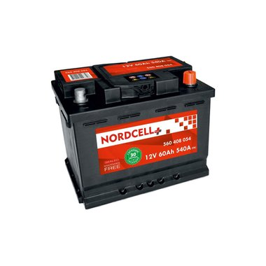 АКУМУЛАТОР NORDCELL PLUS 60AH 540A