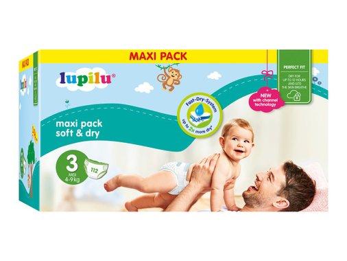 Бебешки пелени Jumbo box