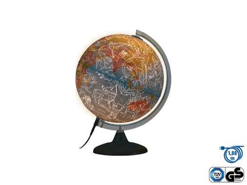 Светещ глобус Ден и нощ