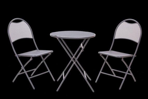 Балконски сет,сгъваема маса и 2 сгъваеми стола