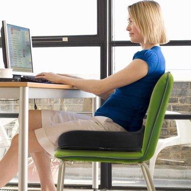 Ортопедична възглавница за стол Amzdeal Memory Foam Seat Cushion FRA75405 ергономична подложка за сядане