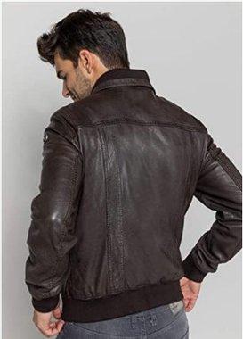 Мъжко кожено яке Redskins Men's Rubbets Calista Jacket H19RUBCAL естествена кожа