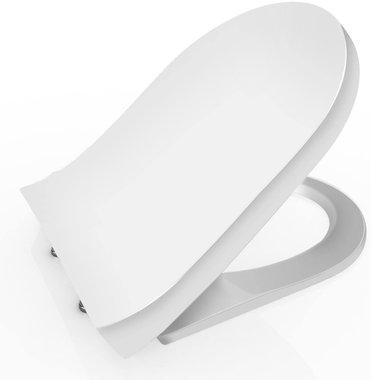 Седалка за тоалетна чиния Homdox Premium AMB005138_U бавнозатварящ се капак за тоалетна