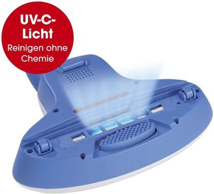 Прахосмукачка с UV-C антибактериална лампа Cleanmaxx 3406 HEPA филтър унищожава 99.9 % от всички вируси и бактерии