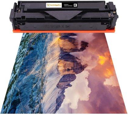 Комплект съвместими тонер касети 4 Pack HP 201X CF400X, CF401X, CF402X, CF403X за принтер HP Color LaserJet Pro MFP