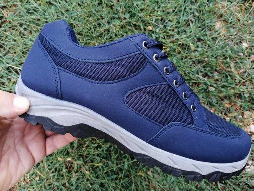 Маратонки в синьо с меко ходило - марка CAIDAI