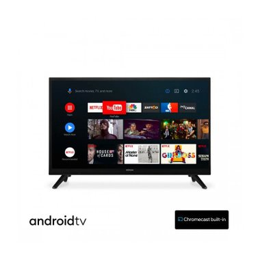 Телевизор Hitachi 24HE2202 ANDROID , 1366x768 HD Ready , 24 inch, 60 см, Android , LED  , Smart TV