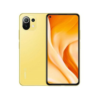 Смартфон Xiaomi MI 11 LITE 5G 128/8 DS YELLOW MZB09AREU , 128 GB, 8 GB