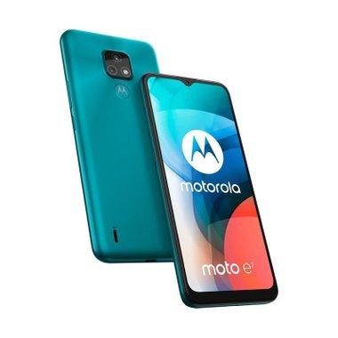 Смартфон Motorola MOTO E7 32/2 DS AQUA BLUE , 2 GB, 32 GB