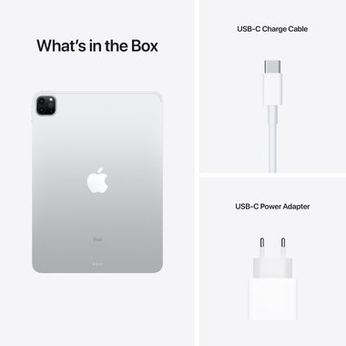 "Таблет Apple iPad Pro 12.9"" (5th) Wi-Fi 256GB Silver mhnj3 , 256 GB, 8 GB"